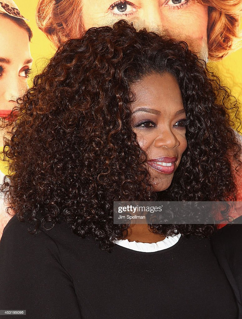 Producer <a gi-track='captionPersonalityLinkClicked' href=/galleries/search?phrase=Oprah+Winfrey&family=editorial&specificpeople=171750 ng-click='$event.stopPropagation()'>Oprah Winfrey</a> attends the 'The Hundred-Foot Journey' New York Premiere at Ziegfeld Theater on August 4, 2014 in New York City.