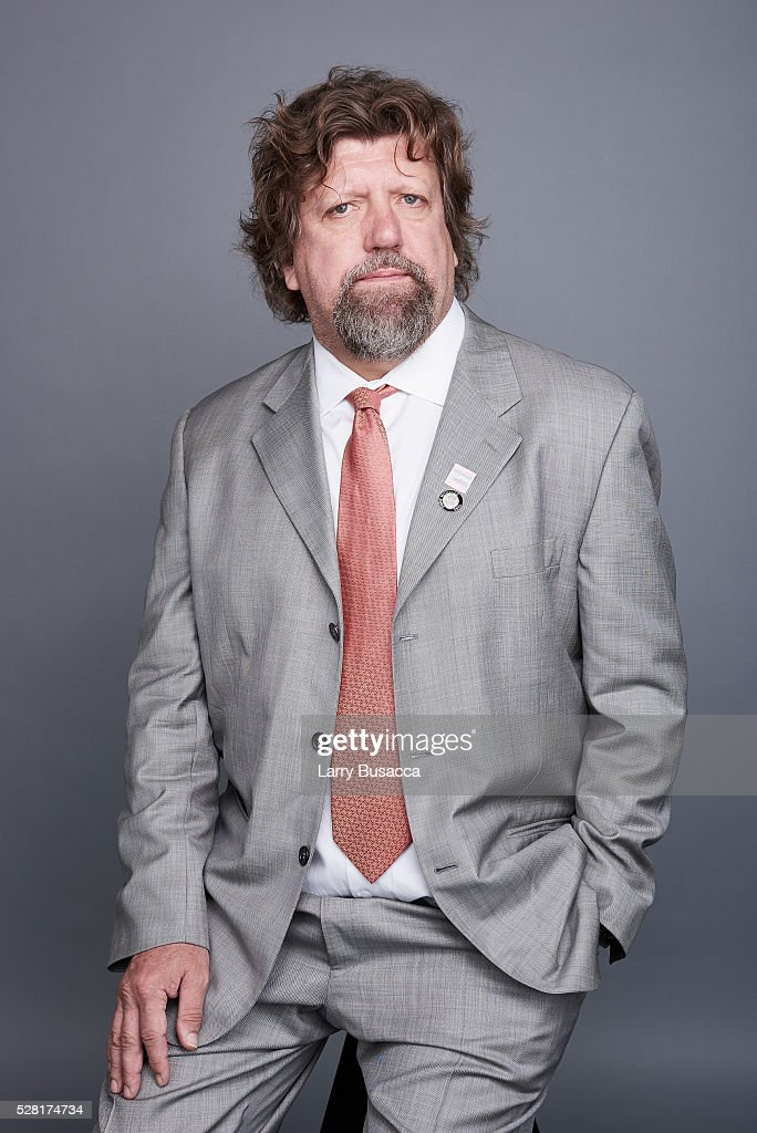 Producer <a gi-track='captionPersonalityLinkClicked' href=/galleries/search?phrase=Oskar+Eustis&family=editorial&specificpeople=559040 ng-click='$event.stopPropagation()'>Oskar Eustis</a> poses for a portrait at the 2016 Tony Awards Meet The Nominees Press Reception on May 4, 2016 in New York City.
