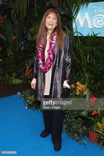 Producer Osnat Shurer attends the UK Gala screening of 'MOANA' at BAFTA on November 20 2016 in London England
