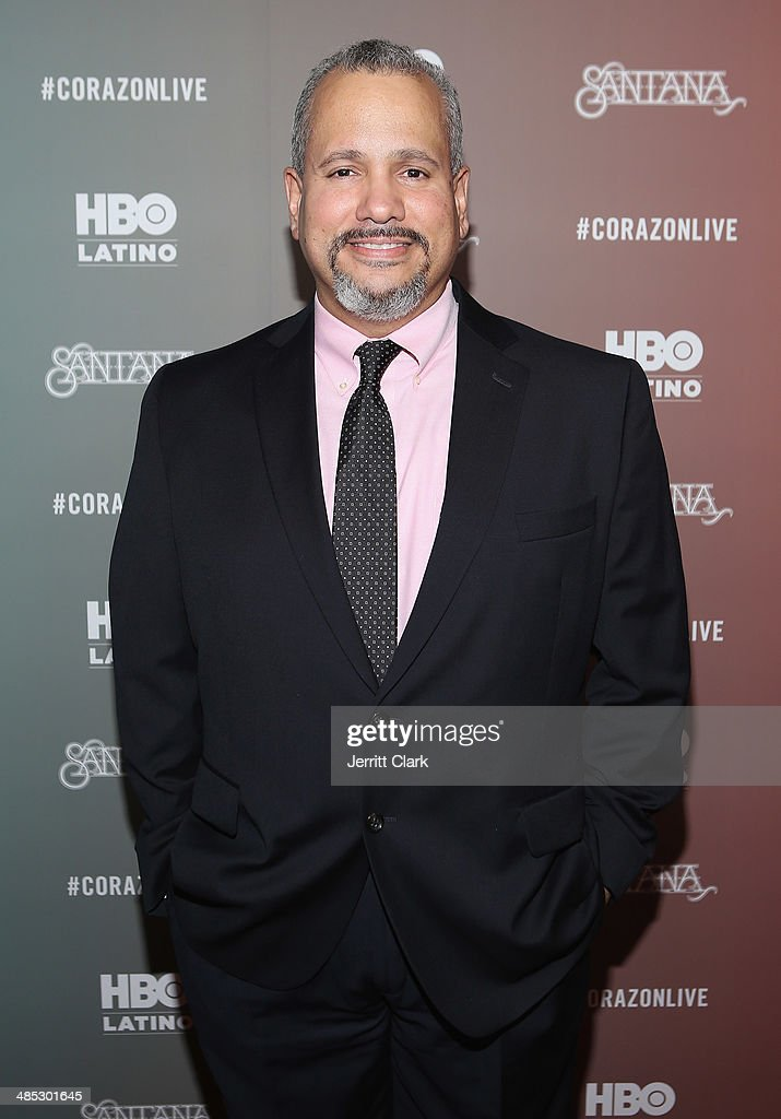 Producer Paco Correa attends the HBO Latino NYC Premiere of 'Santana: De Corazon' at Hudson Theatre on April 16, 2014 in New York City.