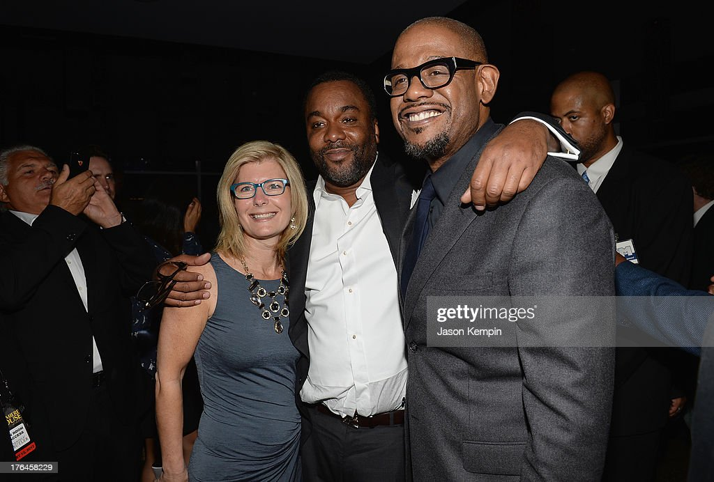 Producer Pamela Oas Williams, Lee Daniels and Forest Whitaker attend the Los Angeles premiere after-party of 'Lee Daniels' The Butler' at WP24 Restaurant and Lounge on August 12, 2013 in Los Angeles, California.
