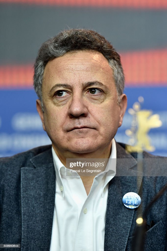 Producer Paolo Del Brocco attends the 'Fire at Sea' (Fuocoammare) press conference during the 66th Berlinale International Film Festival Berlin at Grand Hyatt Hotel on February 13, 2016 in Berlin, Germany.