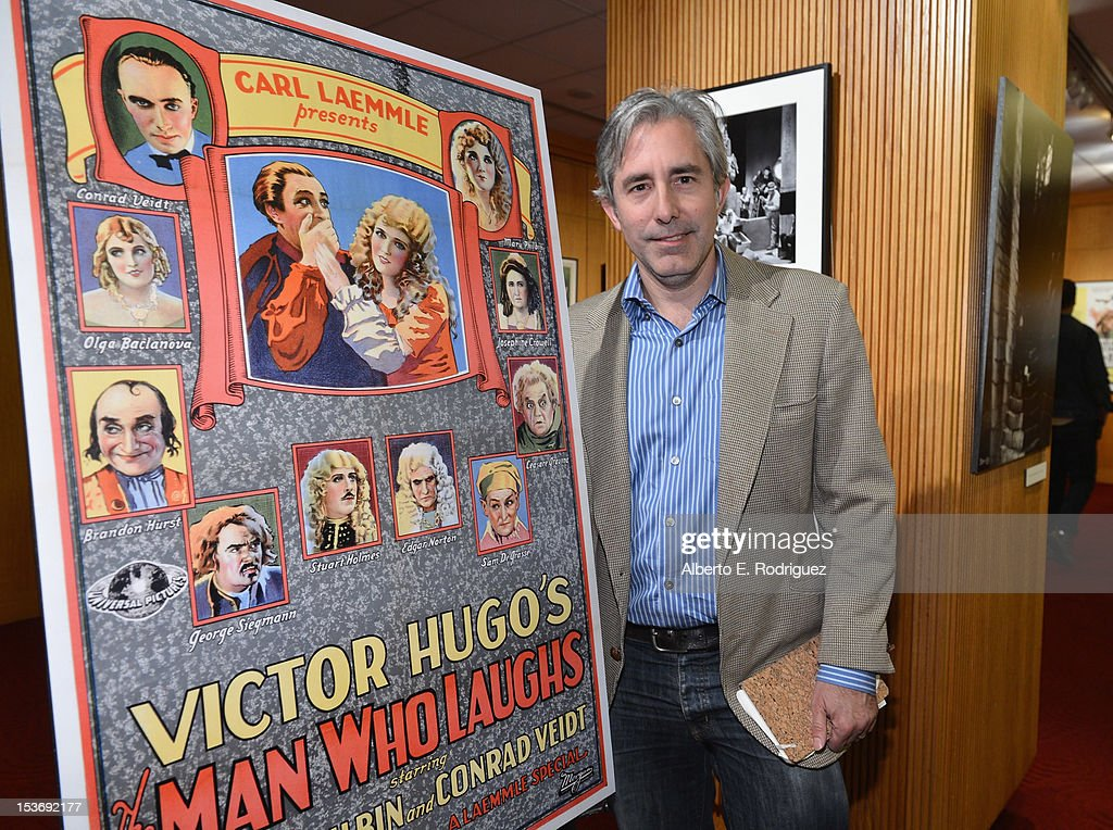 Producer <a gi-track='captionPersonalityLinkClicked' href=/galleries/search?phrase=Paul+Weitz&family=editorial&specificpeople=217980 ng-click='$event.stopPropagation()'>Paul Weitz</a> attends The Academy of Motion Pictures Arts and Sciences' Presents Universal's Legacy of Horror Screening of 'The Man Who Laughs' at AMPAS Samuel Goldwyn Theater on October 8, 2012 in Beverly Hills, California.