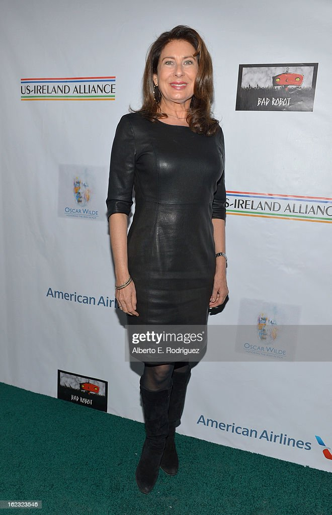 Producer <a gi-track='captionPersonalityLinkClicked' href=/galleries/search?phrase=Paula+Wagner&family=editorial&specificpeople=220393 ng-click='$event.stopPropagation()'>Paula Wagner</a> attends the 8th Annual 'Oscar Wilde: Honoring The Irish In Film' Pre-Academy Awards Event at Bad Robot on February 21, 2013 in Santa Monica, California.