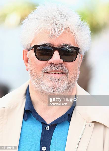 Producer Pedro Almodovar attends the 'Relatos Salvajes' photocall during the 67th Annual Cannes Film Festival on May 17 2014 in Cannes France