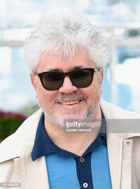 Producer Pedro Almodovar attends the 'Wild Tales' photocall at the 67th Annual Cannes Film Festival on May 17 2014 in Cannes France