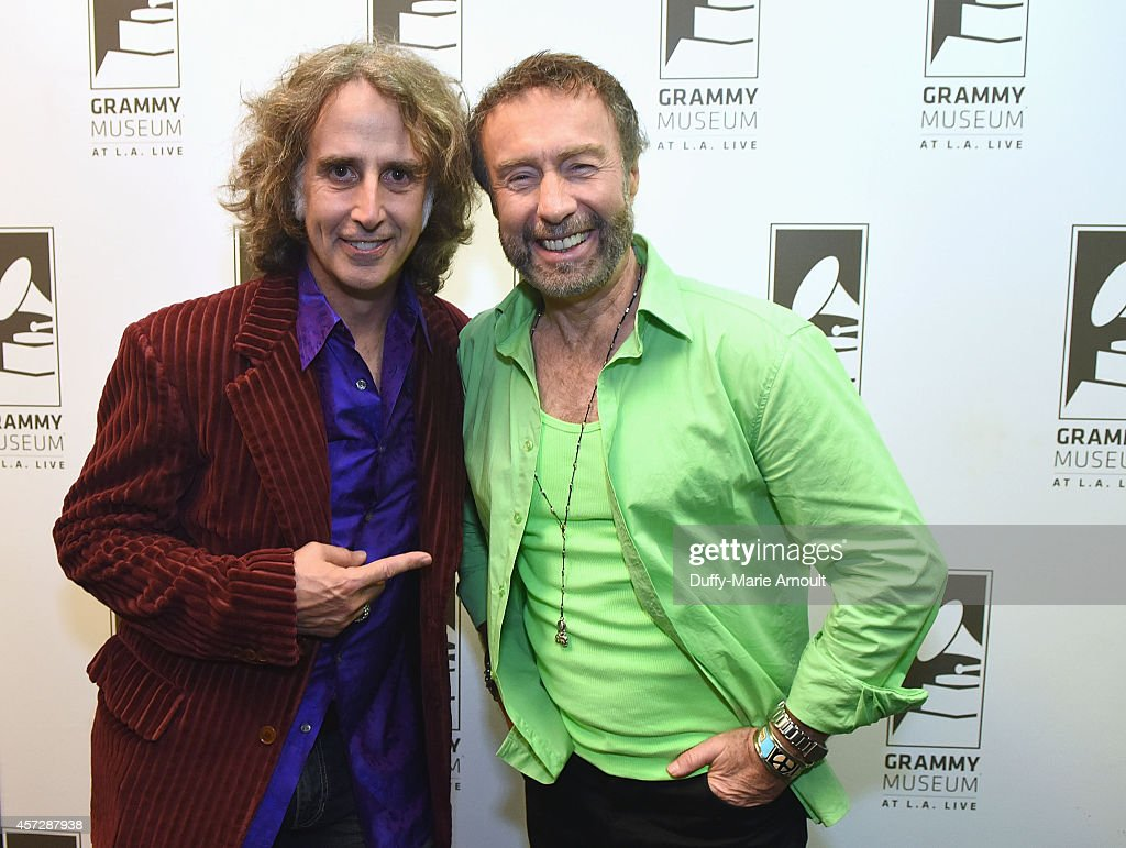 Producer Perry Margouleff and singer Paul Rodgers at Royal Sessions: Paul Rodger's Memphis R&B at The GRAMMY Museum on October 15, 2014 in Los Angeles, California.