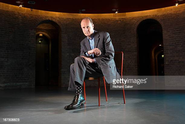 TV producer Peter Bazalgette is photographed for the Observer on February 11 2012 in London England