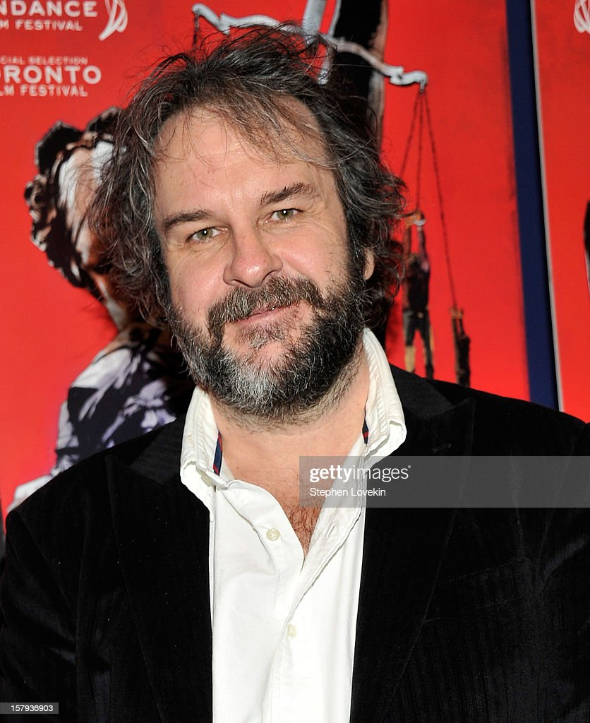 Producer Peter Jackson attends the New York premiere of 'West Of Memphis' at Florence Gould Hall on December 7, 2012 in New York City.