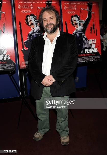 Producer Peter Jackson attends the New York premiere of 'West Of Memphis' at Florence Gould Hall on December 7 2012 in New York City