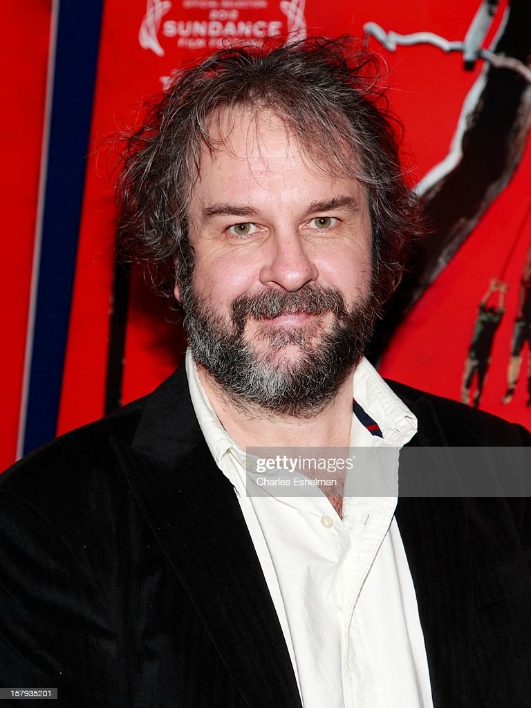 Producer Peter Jackson attends the 'West Of Memphis' premiere at Florence Gould Hall on December 7, 2012 in New York City.