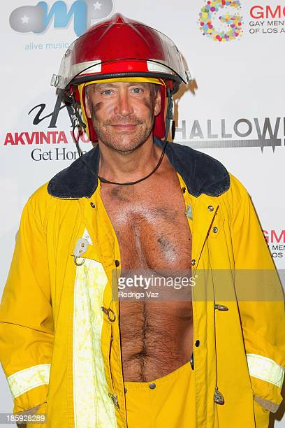 Producer Peter Marc Jacobson attends Fred and Jason's 8th Annual 'Halloweenie' Holiday Concert By The Gay Men's Chorus of Los Angeles at Los Angeles...