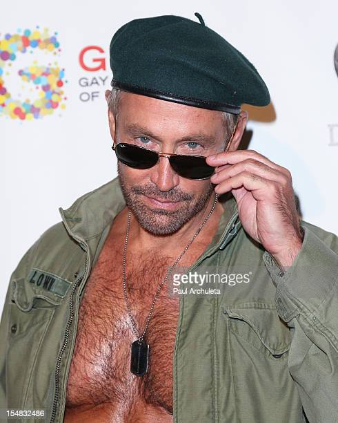 Producer Peter Marc Jacobson attends Fred Jason's annual Halloweenie charity event at The Lot on October 26 2012 in West Hollywood California