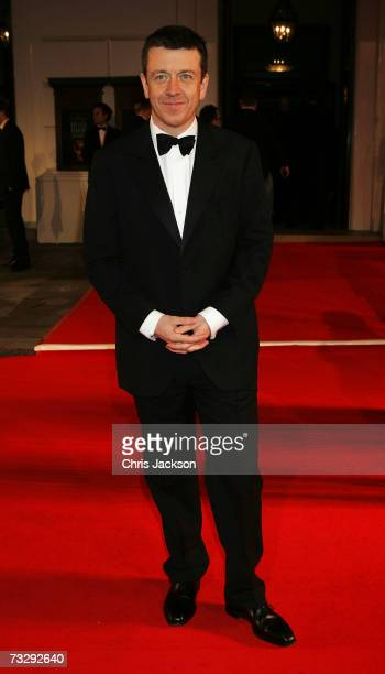 Producer Peter Morgan arrives at the Orange British Academy Film Awards at the Royal Opera House on February 11 2007 in London England