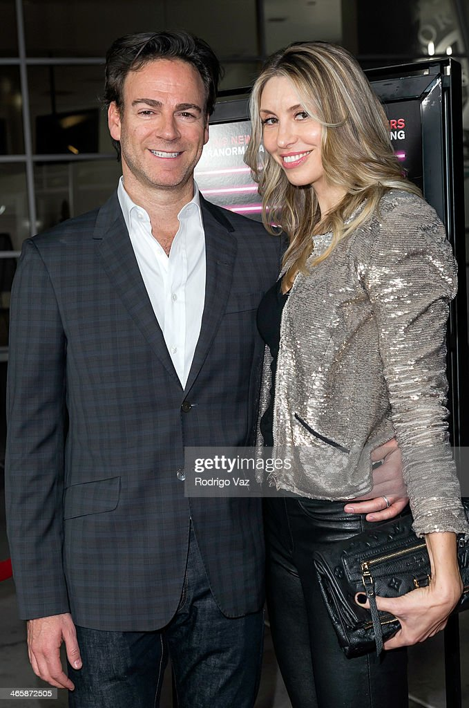 Producer Peter Safran (L) and singer/songwriter Natalia Safran attend the 'Best Night Ever' Los Angeles Premiere at ArcLight Cinemas on January 29, 2014 in Hollywood, California.
