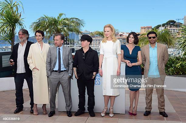 Producer PierreAnge Le Pogam actress Jeanne Balibar director Olivier Dahan actresses Nicole Kidman Paz Vega and screenwriter/producer Uday Chopra...