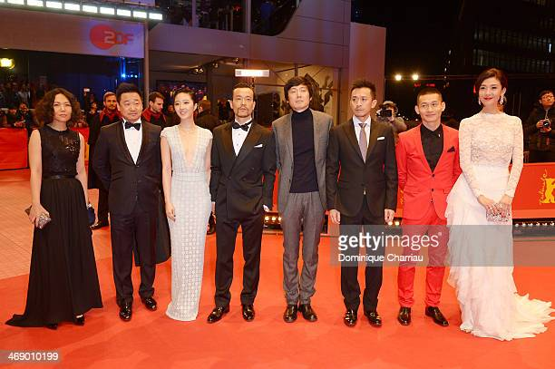 Producer Qu Vivian actor Wang Jingchun actress Gwei Lun Mei actor Liao Fan director Diao Yinan actor Wang Xuebing actor Yu Ailei and actress Ni...