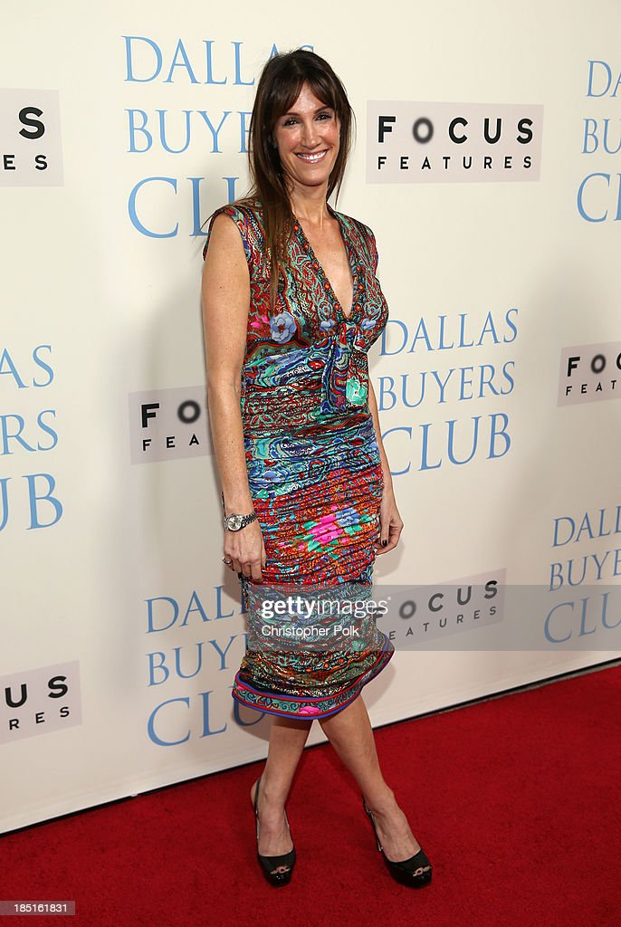 Producer Rachel Winter attends Focus Features' 'Dallas Buyers Club' premiere at the Academy of Motion Picture Arts and Sciences on October 17, 2013 in Beverly Hills, California.