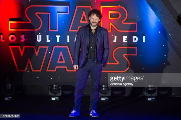Producer Ram Bergman attends the 'Star Wars The Last Jedi' premiere at Oasis shopping mall in Mexico City Mexico on November 20 2017