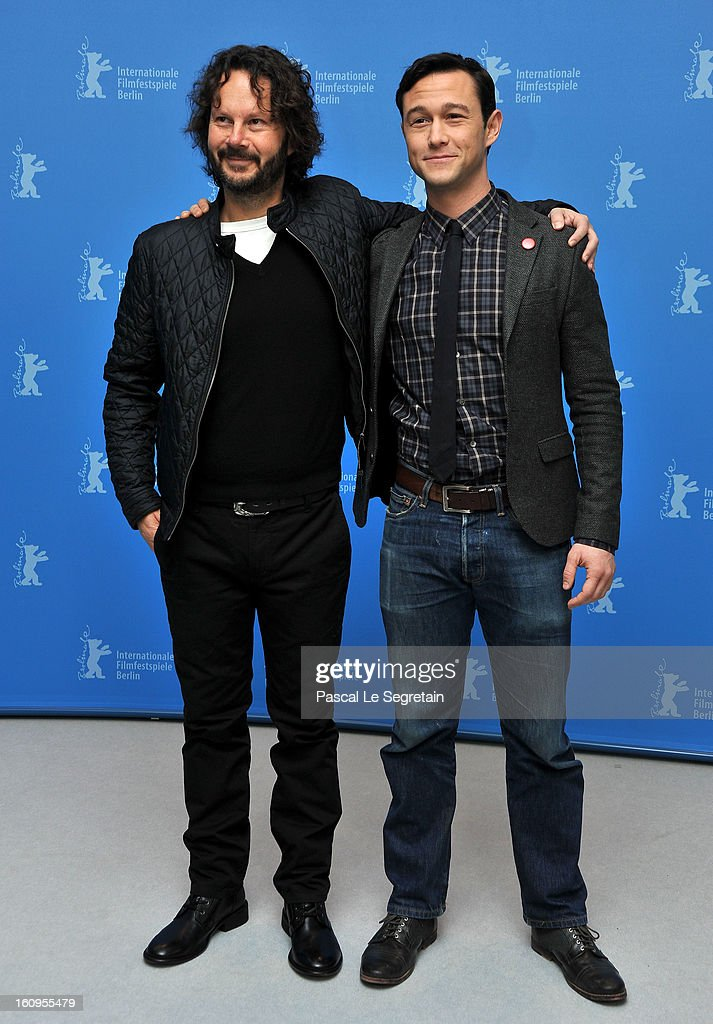 Producer Ram Bergmann and director and actor Joseph Gordon Levitt attend the 'Don Jon's Addiction' Photocall during the 63rd Berlinale International Film Festival at the Grand Hyatt Hotel on February 8, 2013 in Berlin, Germany.