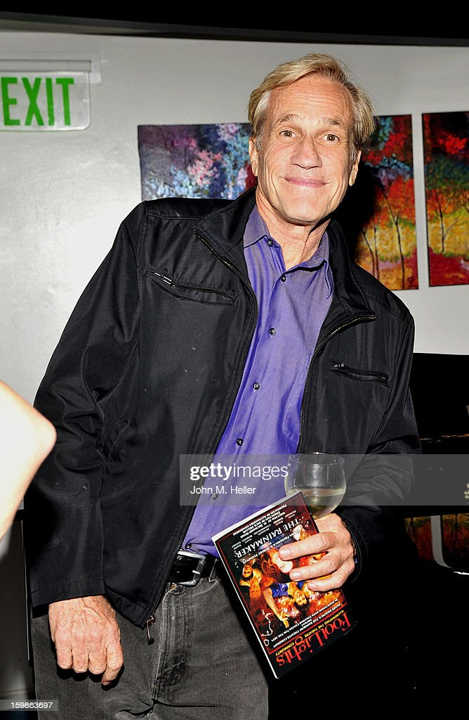 Producer <a gi-track='captionPersonalityLinkClicked' href=/galleries/search?phrase=Randal+Kleiser&family=editorial&specificpeople=706098 ng-click='$event.stopPropagation()'>Randal Kleiser</a> attends the opening night of 'The Rainmaker' at Edgemar Center For The Arts on January 11, 2013 in Santa Monica, California.