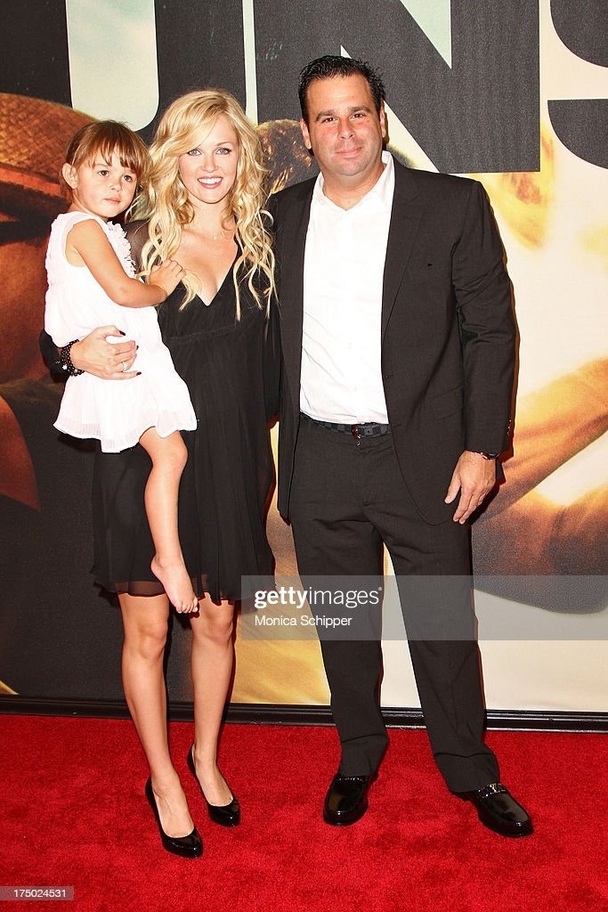 Producer <a gi-track='captionPersonalityLinkClicked' href=/galleries/search?phrase=Randall+Emmett&family=editorial&specificpeople=873813 ng-click='$event.stopPropagation()'>Randall Emmett</a> (R) and guests attend '2 Guns' New York Premiere at SVA Theater on July 29, 2013 in New York City.