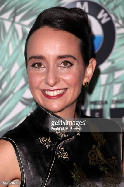 Producer Raphaela Neihausen attends the 10th annual Women in Film PreOscar Cocktail Party at Nightingale Plaza on February 24 2017 in Los Angeles...