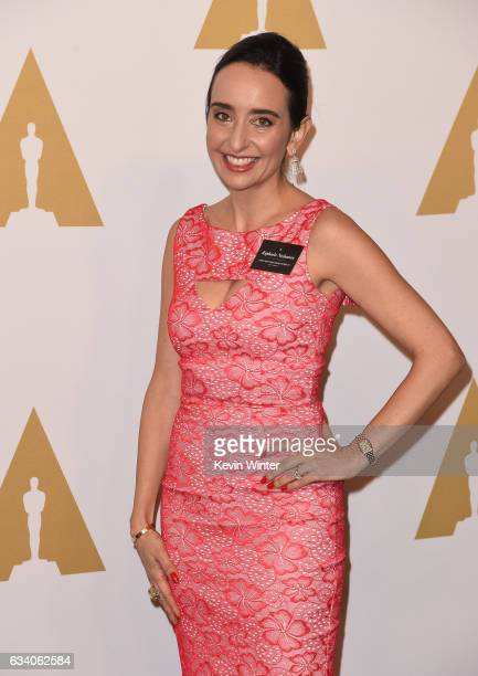 Producer Raphaela Neihausen attends the 89th Annual Academy Awards Nominee Luncheon at The Beverly Hilton Hotel on February 6 2017 in Beverly Hills...
