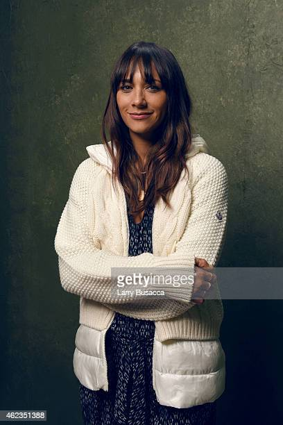 Producer Rashida Jones from 'Hot Girls Wanted' poses for a portrait at the Village at the Lift Presented by McDonald's McCafe during the 2015...