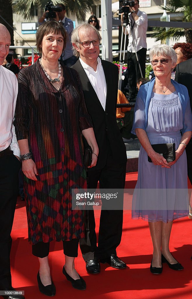 Producer Rebecca O'Brien, Director Ken Loach and wife Lesley Ashton attend the 'Route Irish' Premiere at the Palais des Festivals during the 63rd Annual Cannes Film Festival on May 20, 2010 in Cannes, France.