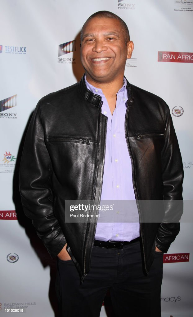 Producer Reginal Hudlin attends 21st Annual Pan African Film Festival 'Double Header' Closing Night at Rave Cinemas on February 11, 2013 in Los Angeles, California.