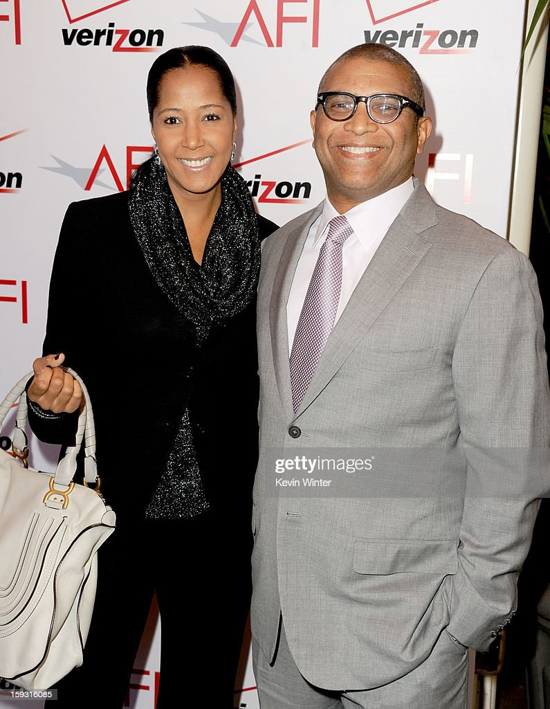 Producer <a gi-track='captionPersonalityLinkClicked' href=/galleries/search?phrase=Reginald+Hudlin&family=editorial&specificpeople=671015 ng-click='$event.stopPropagation()'>Reginald Hudlin</a> (R) and Chrisette Suter attend the 13th Annual AFI Awards at Four Seasons Los Angeles at Beverly Hills on January 11, 2013 in Beverly Hills, California.