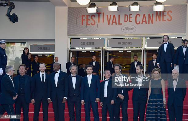 Producer Richard Granpierre actors Conrad Kemp and Forest Whitaker director Jerome Salle actor Orlando Bloom writer Caryl Ferey composer Alexandre...