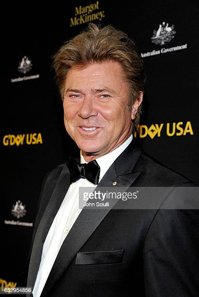TV producer Richard Wilkins attends the 2017 G'Day Black Tie Gala at Governors Ballroom At Hollywood And Highland on January 28 2017 in Hollywood...