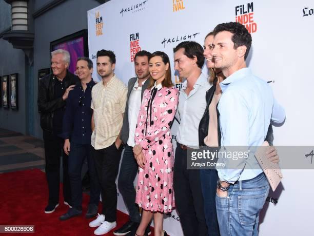 Producer Rick Rickertsen Neon's Tom Quinn writer/director Matt Spicer producer Allan Mandelbaum actor Aubrey Plaza producers Tim White Mary Solomon...