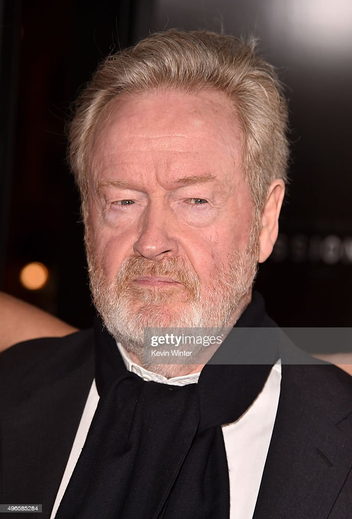 Producer Ridley Scott attends the Centerpiece Gala Premiere of Columbia Pictures' 'Concussion' during AFI FEST 2015 presented by Audi at TCL Chinese Theatre on November 10, 2015 in Hollywood, California.
