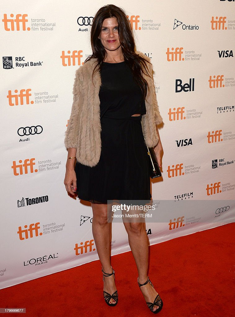 Producer Robbie Brenner arrives at the 'Dallas Buyers Club' premiere during the 2013 Toronto International Film Festival at Princess of Wales Theatre on September 7, 2013 in Toronto, Canada.