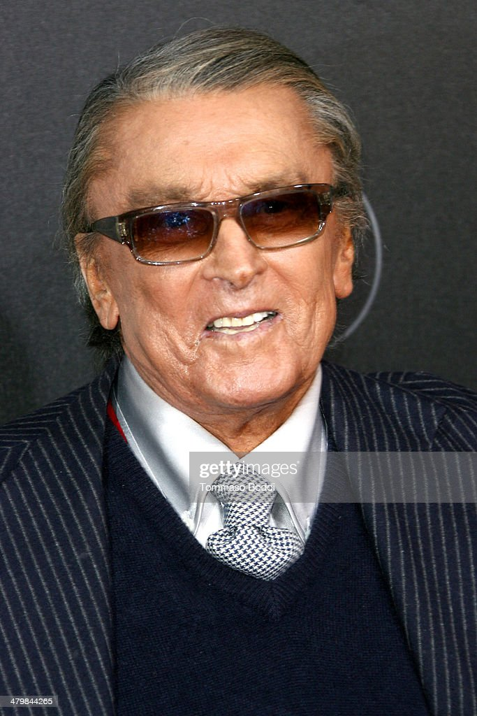 Producer Robert Evans attends the 2nd annual Rebel With a Cause Gala held at the Paramount Studios on March 20 2014 in Hollywood California