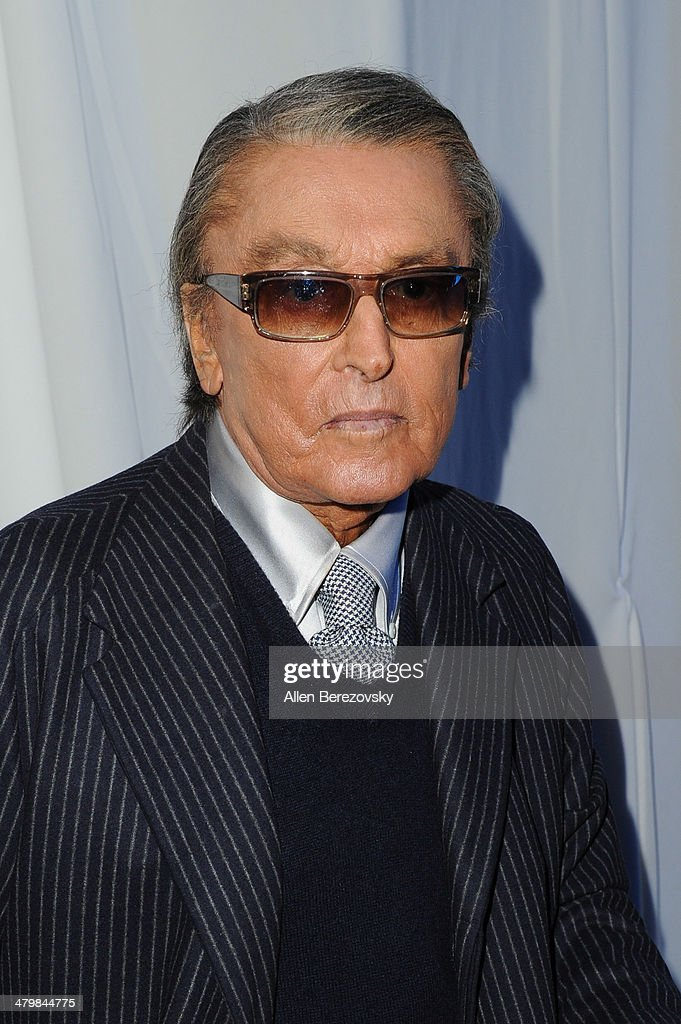 Producer Robert Evans attends the 2nd Annual Rebel With A Cause Gala cocktail reception at Paramount Studios on March 20 2014 in Hollywood California