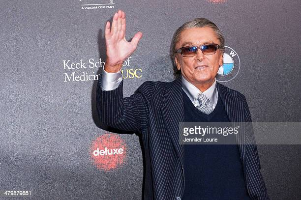 Producer Robert Evans attends the 2nd Annual Rebel With A Cause Gala hosted at the Paramount Studios on March 20 2014 in Hollywood California