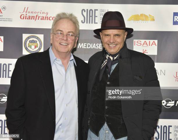 Producer Robert Moresco and Joe Pantoliano attend 12th Edition Of The Los Angeles Italia Film Fashion And Art Fest at TCL Chinese 6 Theatres on...