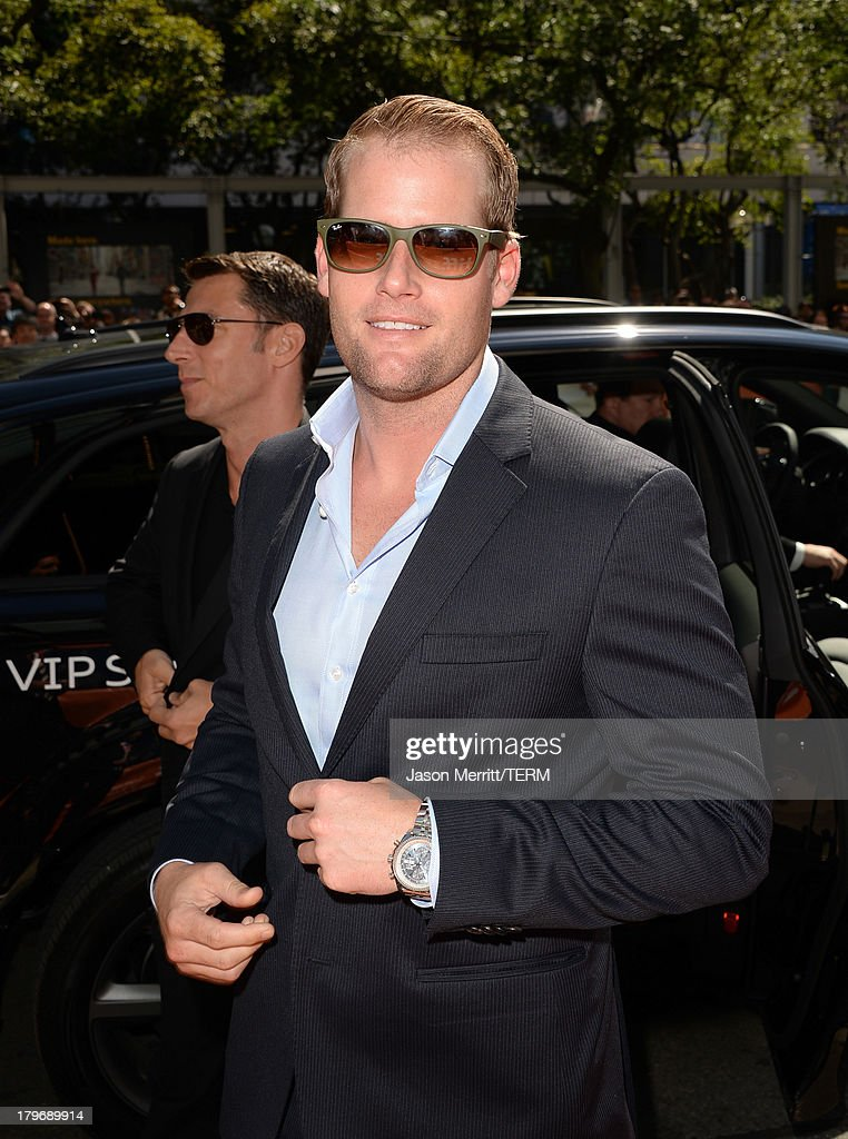 Producer Robert Ogden Barnum arrives at 'Hateship Loveship' Premiere during the 2013 Toronto International Film Festival at Princess of Wales Theatre on September 6, 2013 in Toronto, Canada.