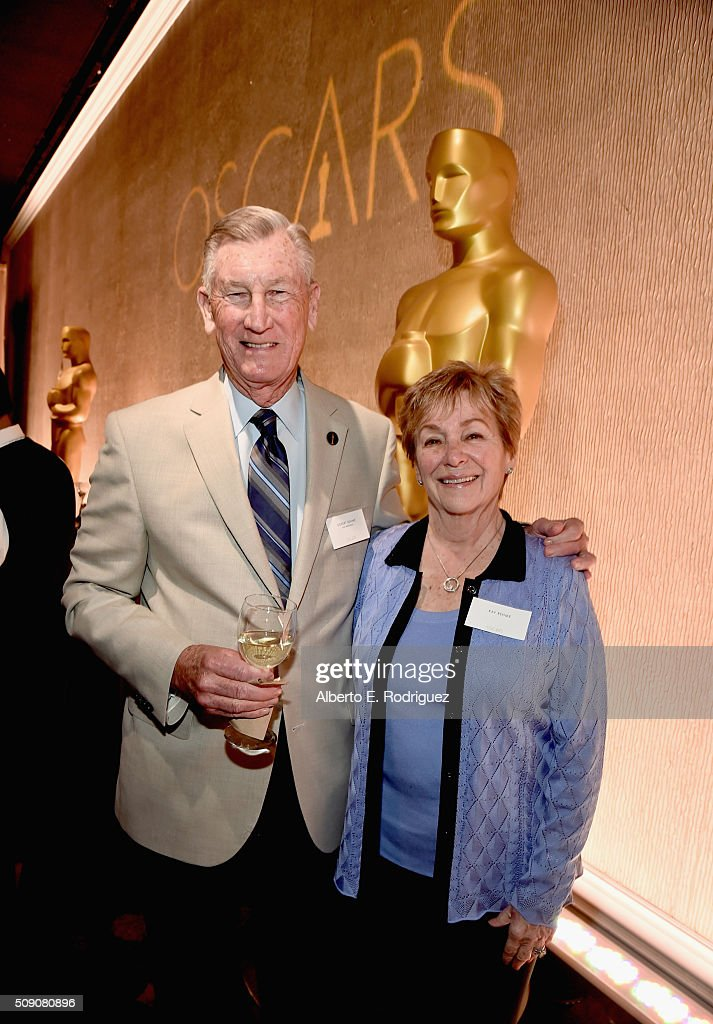 Producer <a gi-track='captionPersonalityLinkClicked' href=/galleries/search?phrase=Robert+Rehme&family=editorial&specificpeople=220693 ng-click='$event.stopPropagation()'>Robert Rehme</a> and Kay Rehme attend the 88th Annual Academy Awards nominee luncheon on February 8, 2016 in Beverly Hills, California.