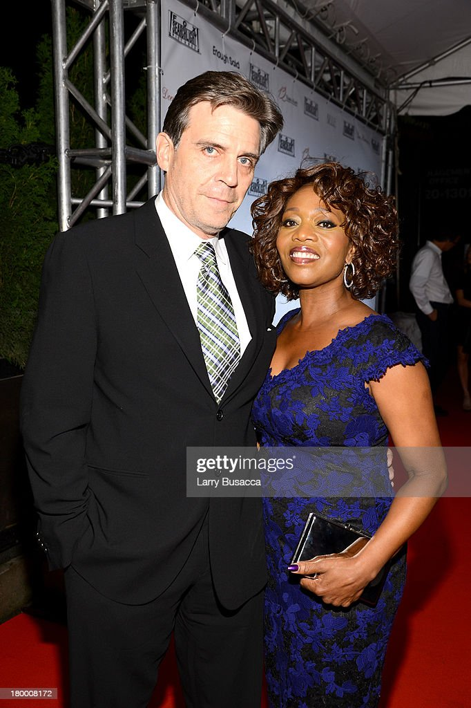 Producer Roderick Spencer and actress <a gi-track='captionPersonalityLinkClicked' href=/galleries/search?phrase=Alfre+Woodard&family=editorial&specificpeople=220969 ng-click='$event.stopPropagation()'>Alfre Woodard</a> attend the Fox Searchlight TIFF party during the 2013 Toronto International Film Festival at Spice Route on September 7, 2013 in Toronto, Canada.