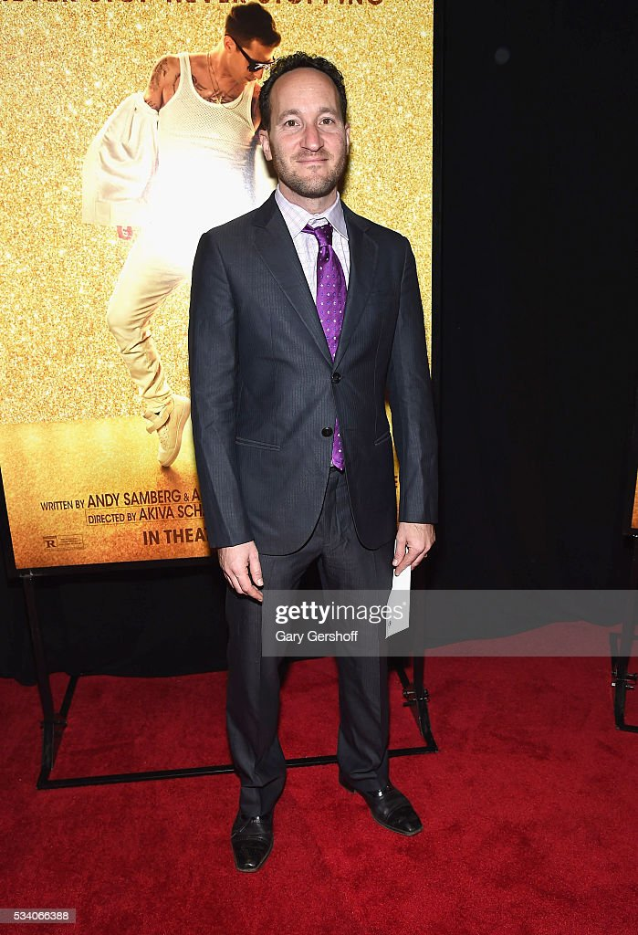 Producer Rodney Rothman attends the 'Popstar: Never Stop Never Stopping' New York premiere at AMC Loews Lincoln Square 13 theater on May 24, 2016 in New York City.