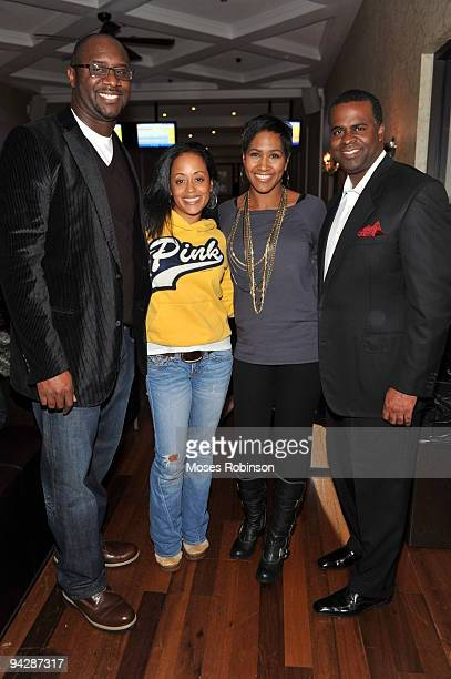 COVERAGE* Producer Roger Bobb actress Essence Atkins actress Terri Vaughn and Atlanta Mayorelect Kasim Reed attend the 'Meet The Browns' and 'House...