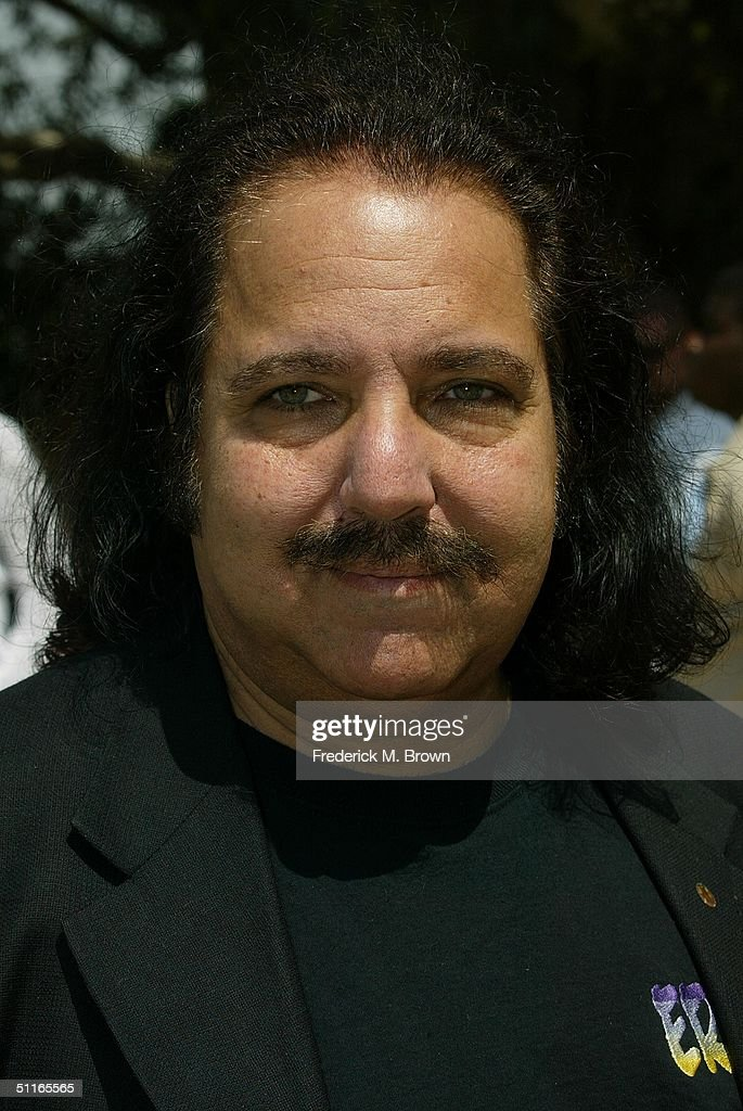 Producer Ron Jeremy attends the funeral service for the late recording artist Rick James at Forest Lawn Cemetery on August 12, 2004 in Los Angeles, California. (Photo by Frederick M. Brown/Getty Images).