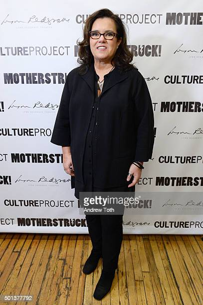 Producer Rosie O'Donnell attends 'MotherStruck' opening night at the Lynn Redgrave Theatre on December 14 2015 in New York City
