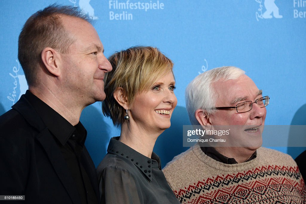 Producer Roy Boulter, actress <a gi-track='captionPersonalityLinkClicked' href=/galleries/search?phrase=Cynthia+Nixon&family=editorial&specificpeople=202583 ng-click='$event.stopPropagation()'>Cynthia Nixon</a> and director <a gi-track='captionPersonalityLinkClicked' href=/galleries/search?phrase=Terence+Davies&family=editorial&specificpeople=3212836 ng-click='$event.stopPropagation()'>Terence Davies</a> attend the 'A Quiet Passion' photo call during the 66th Berlinale International Film Festival Berlin at Grand Hyatt Hotel on February 14, 2016 in Berlin, Germany.