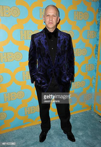 Producer Ryan Murphy attends HBO's post Golden Globe Awards party at The Beverly Hilton Hotel on January 11 2015 in Beverly Hills California